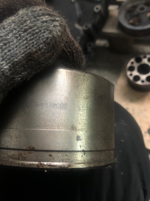 Ступица коленвала Scania