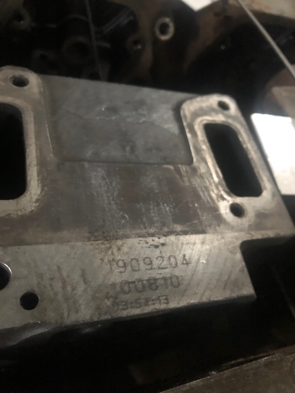 Головка блока цилиндров Scania R-Serie