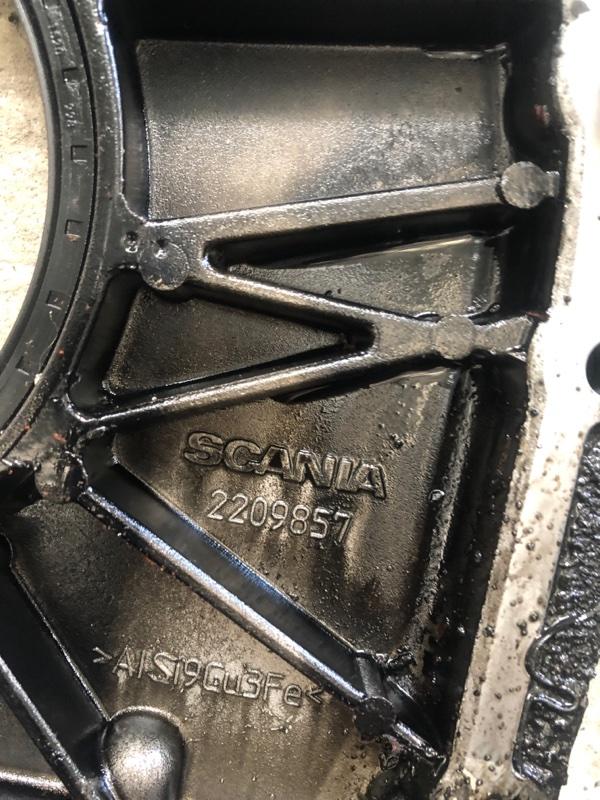 Крышка плиты двигателя Scania