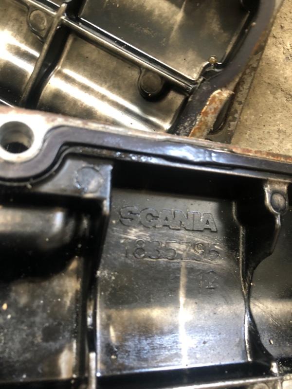 Крышка блока цилиндра Scania