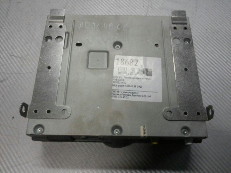 Блок радио Audi A6 4F 2005-