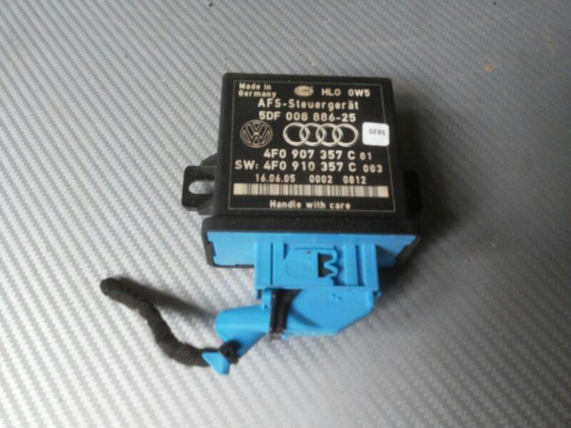 Блок корректора фар Audi A6 4F передний