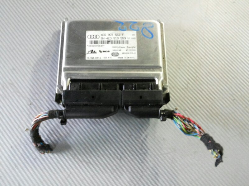 Блок управления пневмоподвеской Audi A8 D3 3.2 BKP 2006
