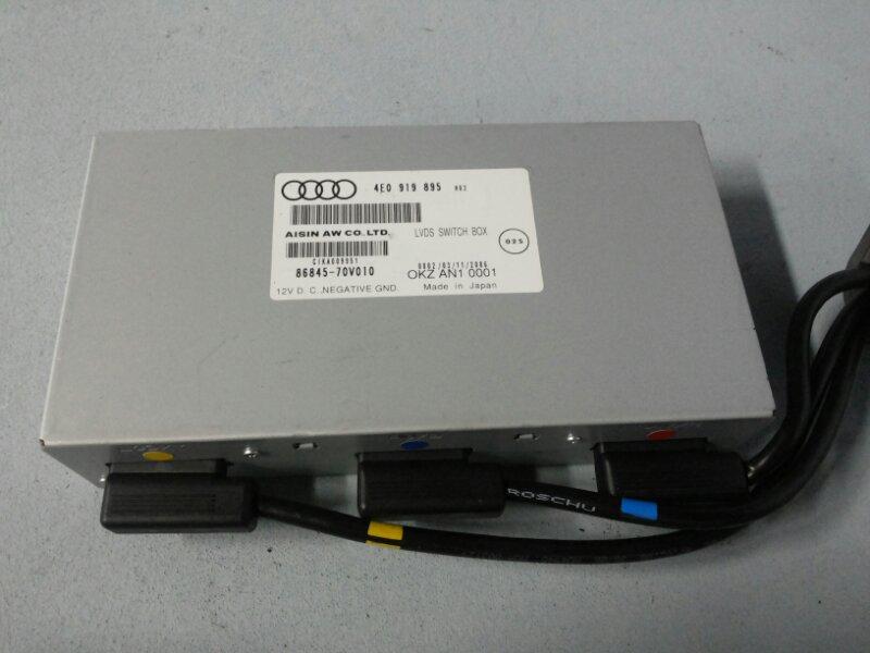 Блок управления навигацией Audi Allroad C6 3.2 AUK 2005