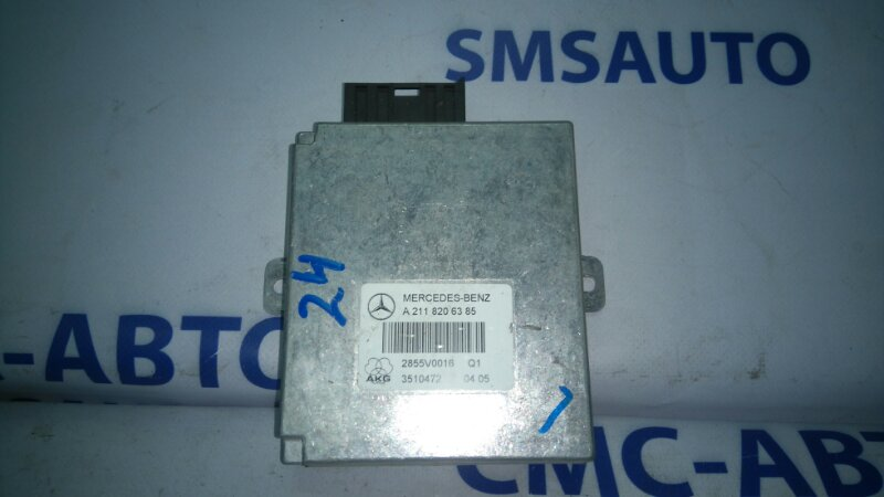 Блок управления телефоном Mercedes E-Class W211 E320 2002