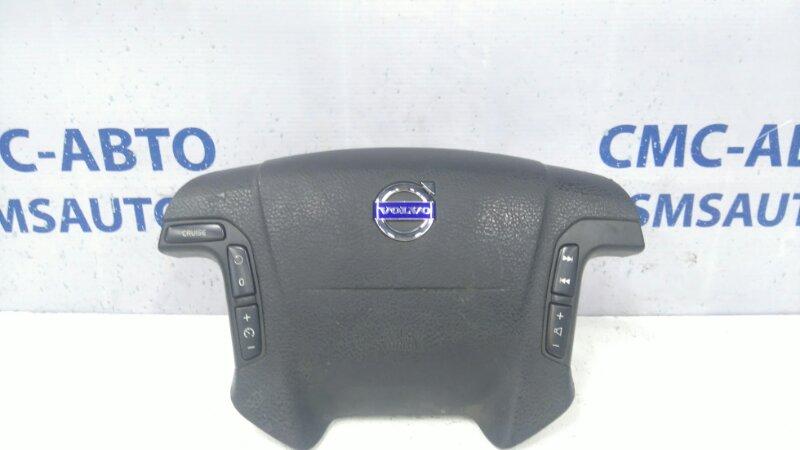 Airbag водителя 8686284 Volvo S80 V70 XC70 03- черная