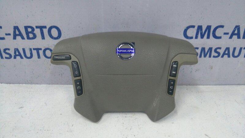 Airbag водителя 30698043 Volvo S80 V70 XC70 03- бежевый