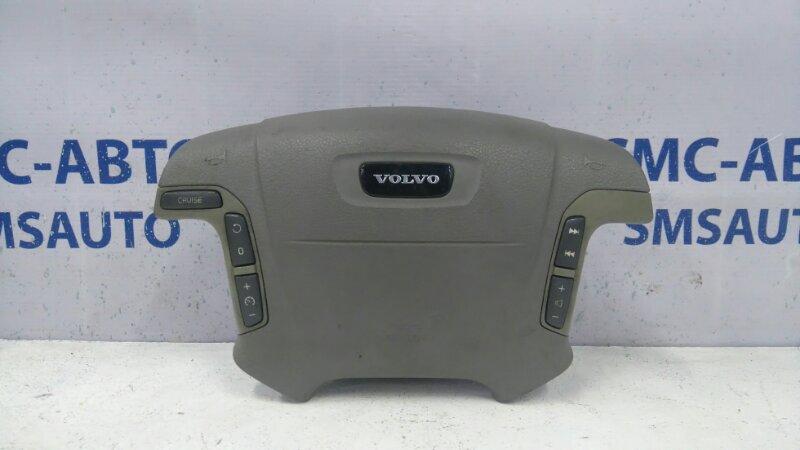 Airbag водителя светло-серая 8638155 Volvo S80 98-02