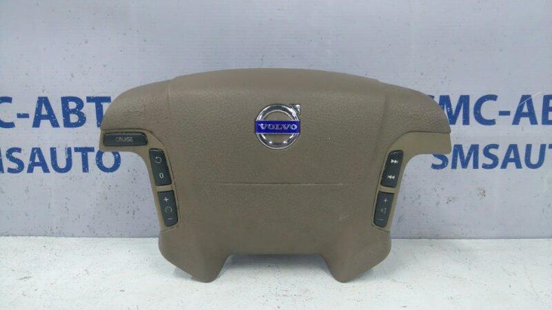 Airbag водителя бежевый 8686287 Volvo S80 V70 03-07