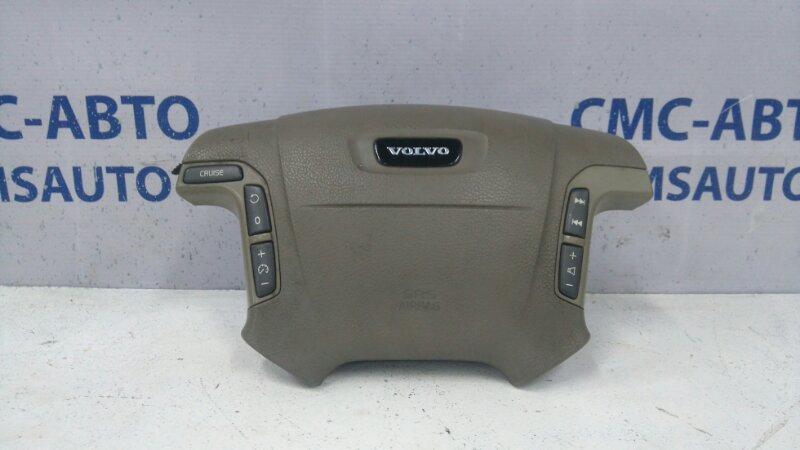 Airbag водителя бежевый 9199928 Volvo S80 98-02