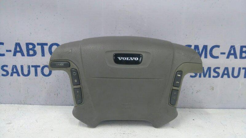 Airbag водителя светло-серая 8638252 Volvo S80 98-02