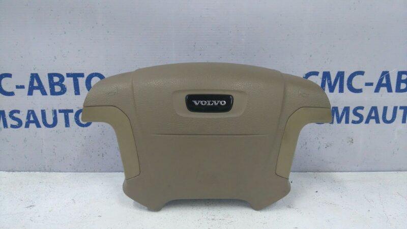 Airbag водителя бежевый 9208810 Volvo S80 98-02