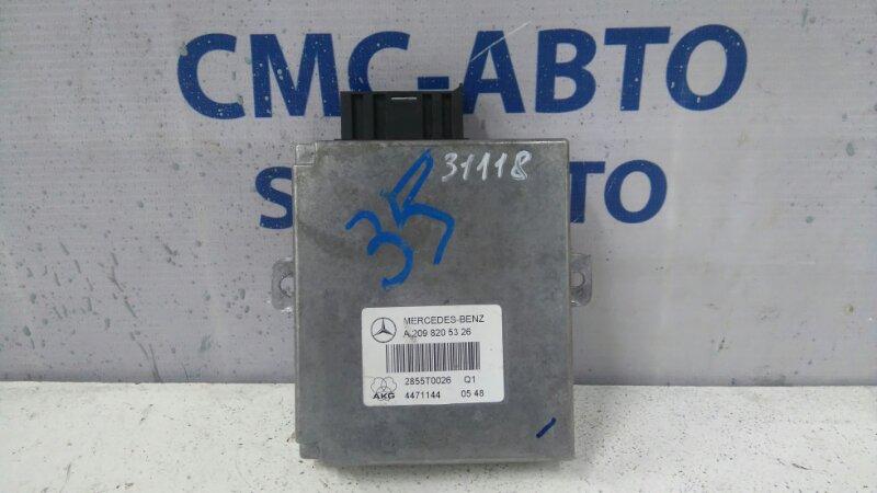 Блок управления телефоном Mercedes R-Class W251 R350 2006