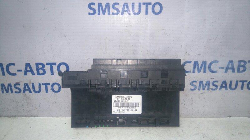 Блок управления sam Mercedes Cls-Klasse W219 CLS350 задний
