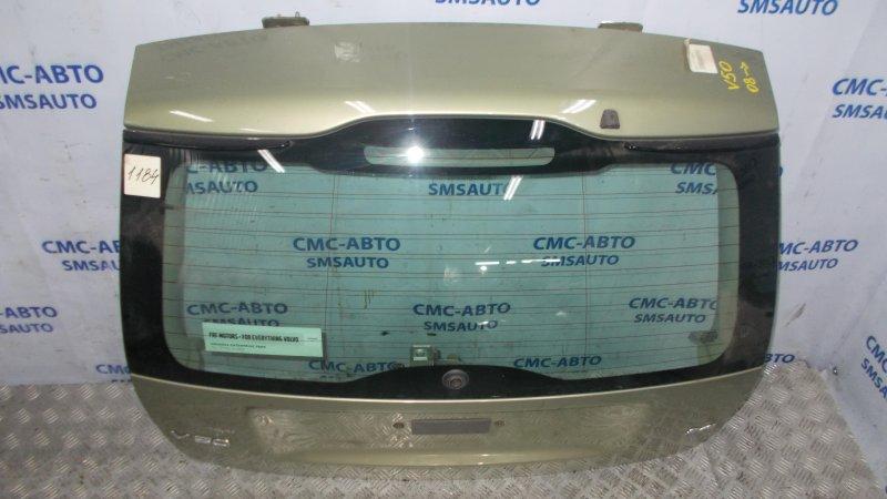 Крышка багажника универсала 31218941 Volvo V50 оливковая