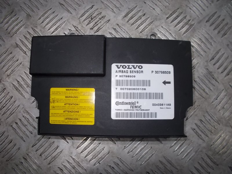 Блок управления airbag srs Volvo S80 С80 3.2 2007