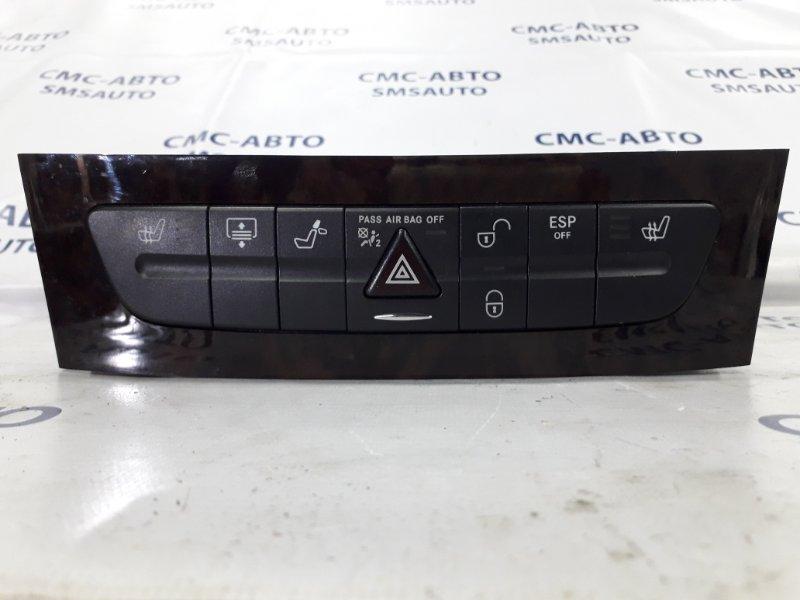 Блок кнопок передней панели Mercedes Cls-Class W219 CLS350