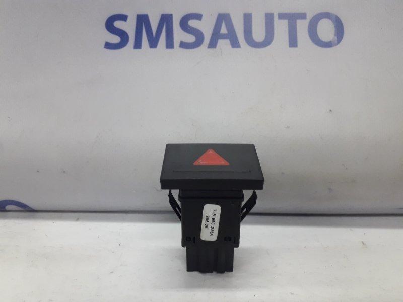 Кнопка аварийной сигнализации Volkswagen Touareg 3.6FSI BHK