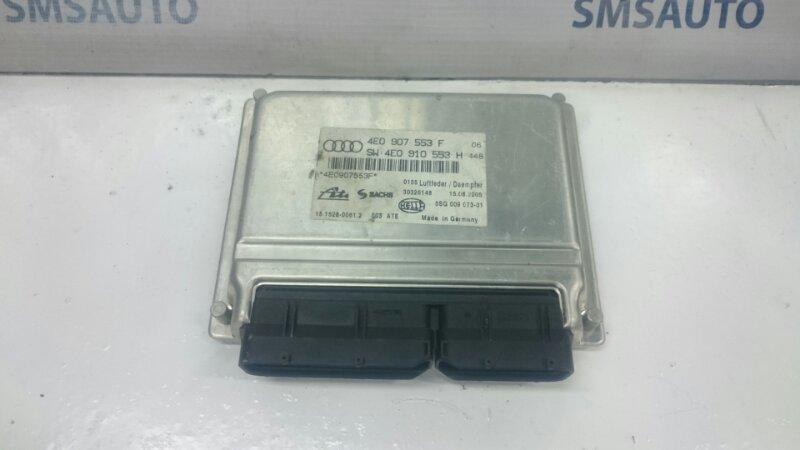 Блок управления пневмоподвеской Audi A8 D 3