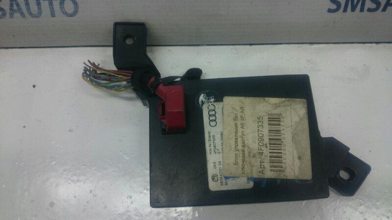 Блок управления без ключевой доступ A6 4F