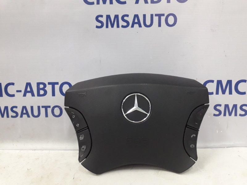 Подушка безопасности водителя Mercedes S-Klasse W220 S350