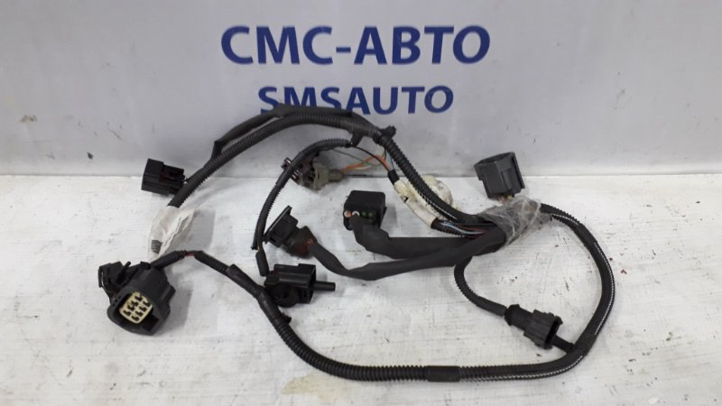 Проводка переднего бампера S80  04-06