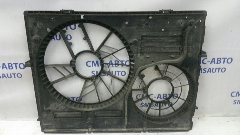 Диффузор вентилятора Volkswagen Touareg 3.6FSI BHK