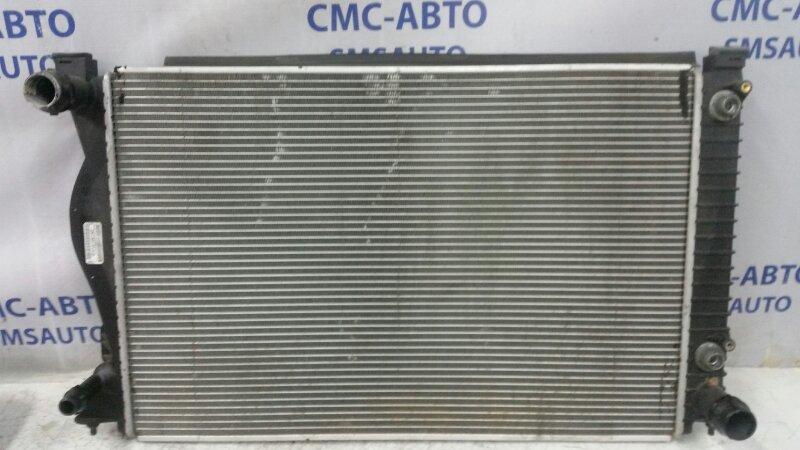 Радиатор охлаждения двс Audi A6 C6