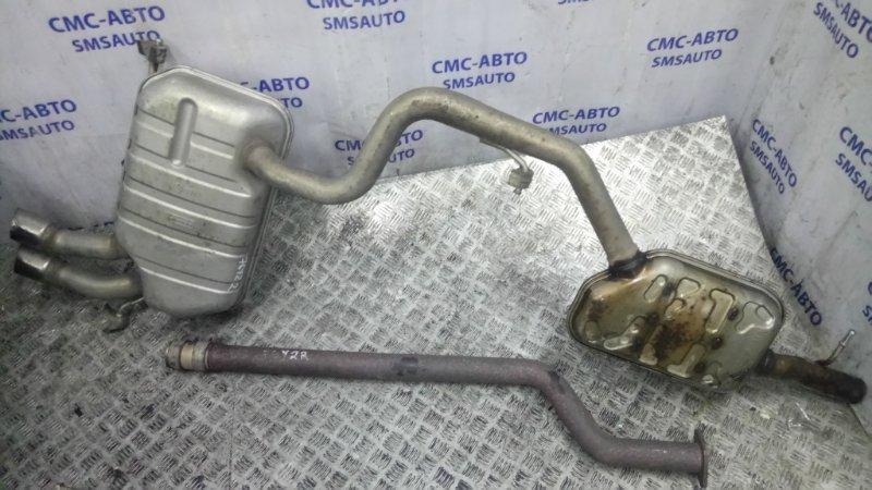 Глушитель Volkswagen Tiguan 2.0T