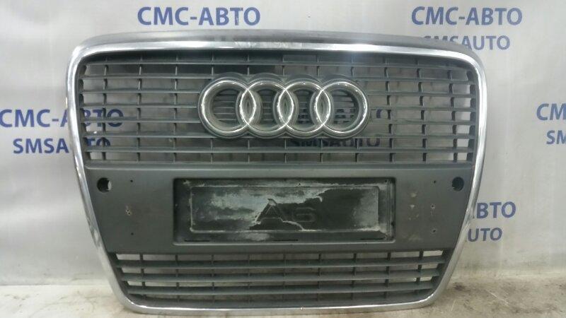 Решетка бампера Audi A6 4F 3.2FSI AUK 2004