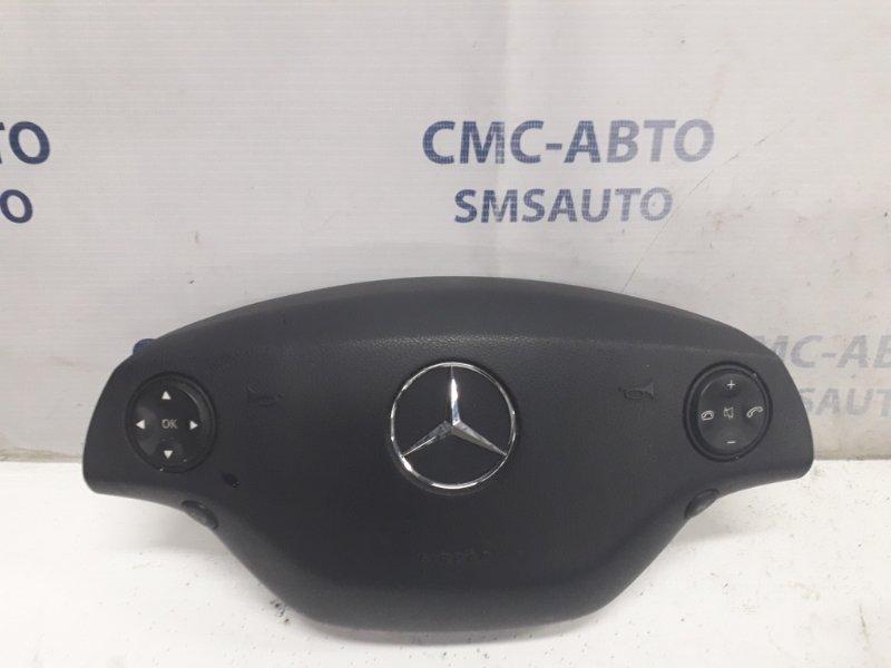 Подушка безопасности водителя Mercedes S-Klasse W221 S350