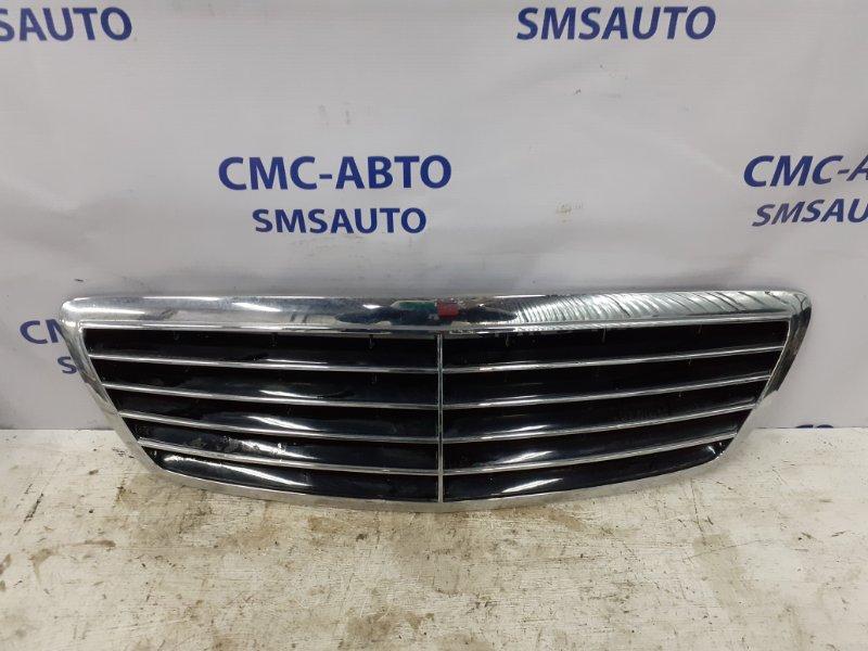 Решетка радиатора Mercedes S-Klasse W220 S350