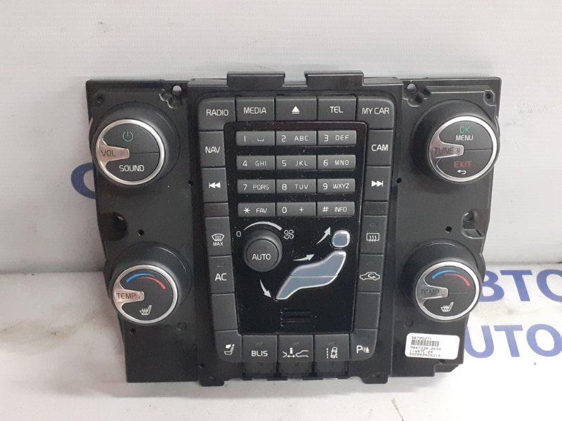 Блок управления климатом Volvo S60 С60 1.6T 2010