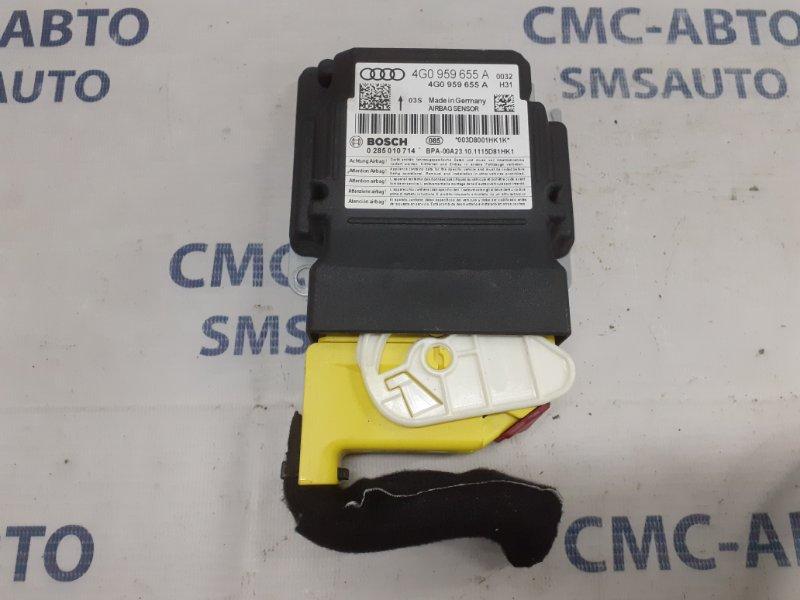 Блок управления air bag Audi A6 C7 3.0T