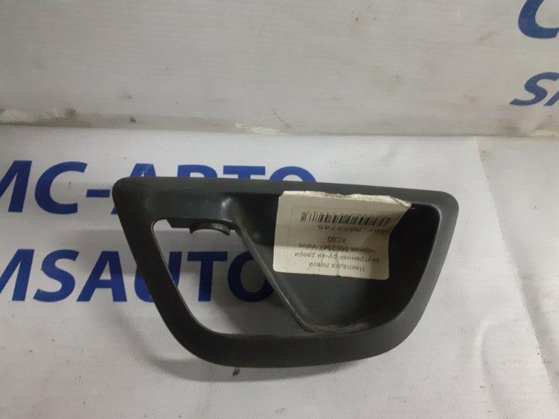 Накладка левой внутренней ручки двери бежевая 8652547 Volvo XC90