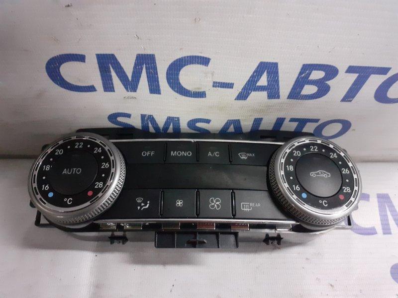 Блок управления климатом Mercedes C-Klasse W204 2008
