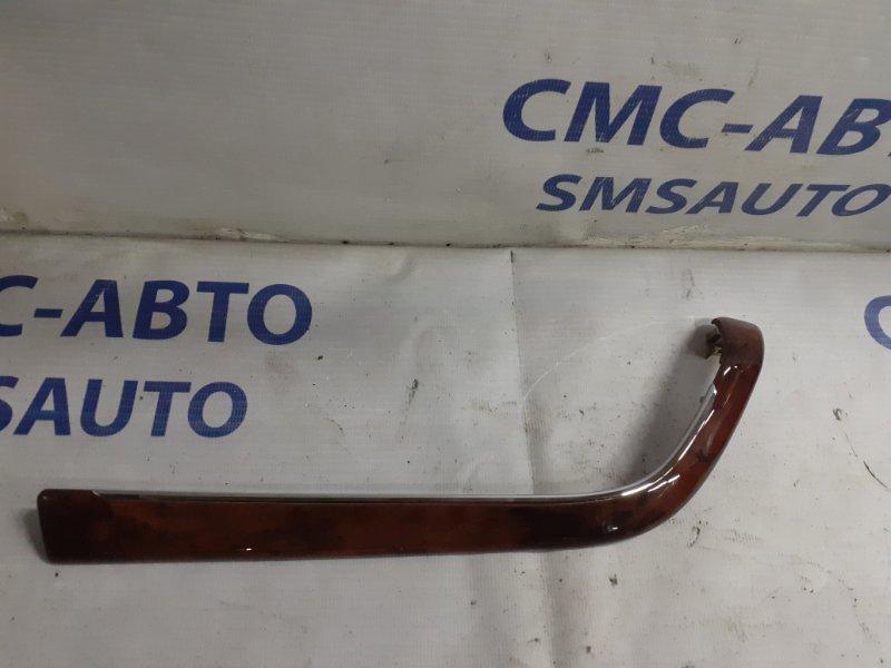 Накладка декоративная обшивки двери Mercedes S-Klasse W220 S350 задняя левая