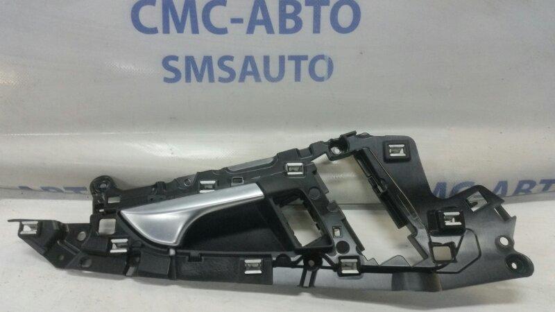 Кронштейн ручки двери Audi A6 C7 3.0T передний правый