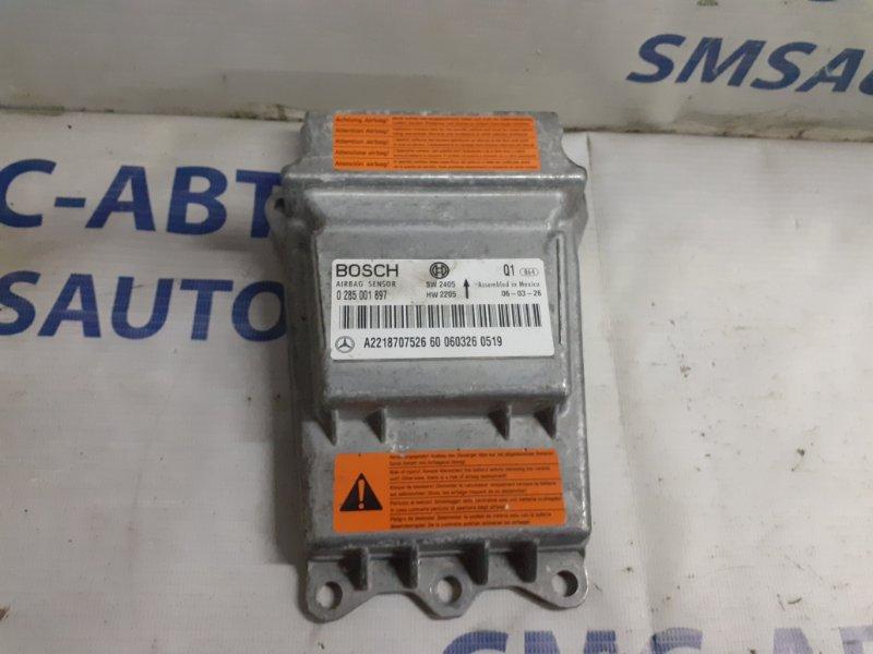 Блок управления air bag Mercedes S-Klasse W221 5.5