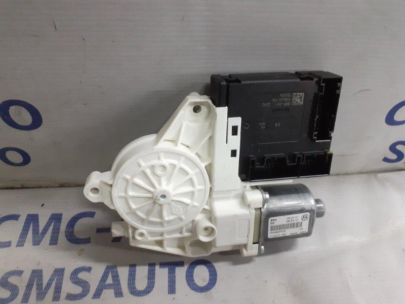 Моторчик стеклоподъемника Volkswagen Tiguan 2.0TD передний левый