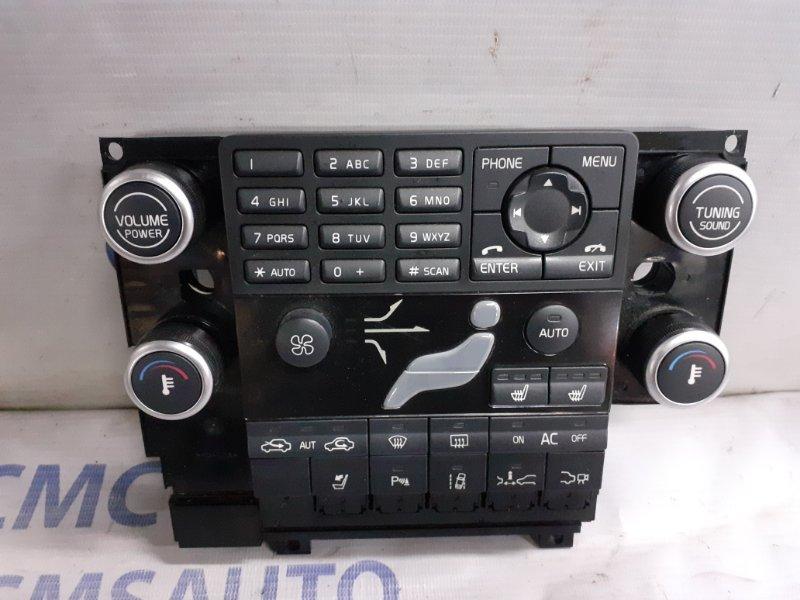 Блок управления климатом Volvo Xc60 ХС60 2.0T 2010