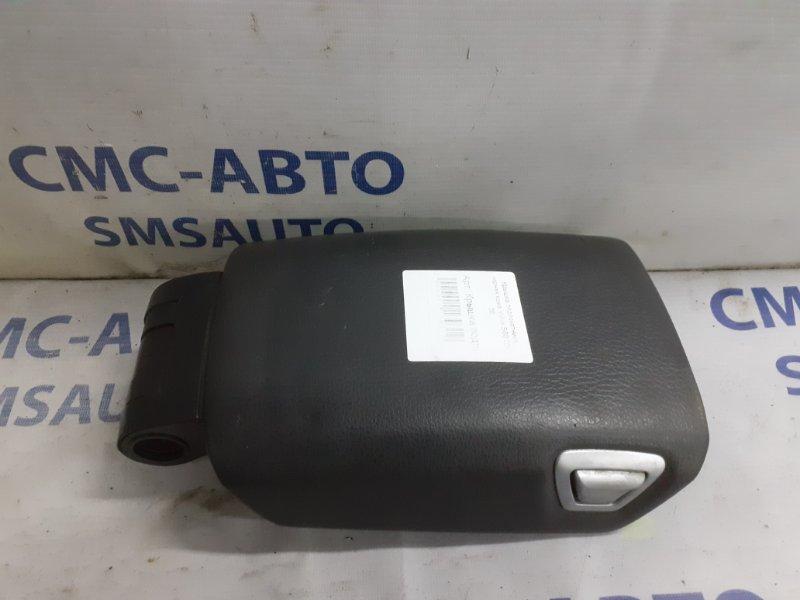 Крышка подлокотника черная кожа Volvo S60 05-09
