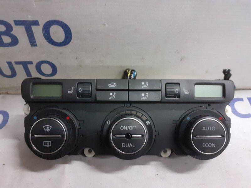 Блок управления климатом Volkswagen Passat 2.0T 2006