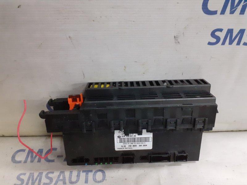 Блок управления sam Mercedes Cls-Klasse W219 5.0 задний