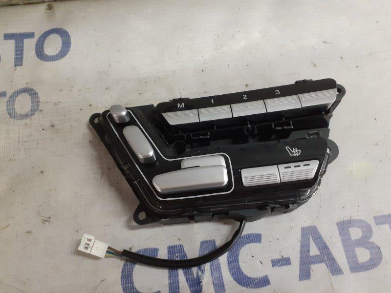 Блок управления сиденьем Mercedes S-Klasse W221 5.5 передний левый