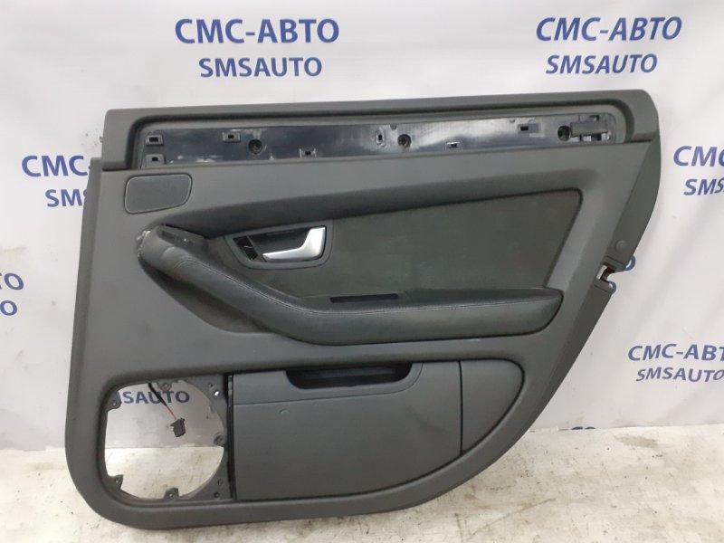 Обшивка двери Audi A8 D3 3.2 BKP 2006 задняя правая