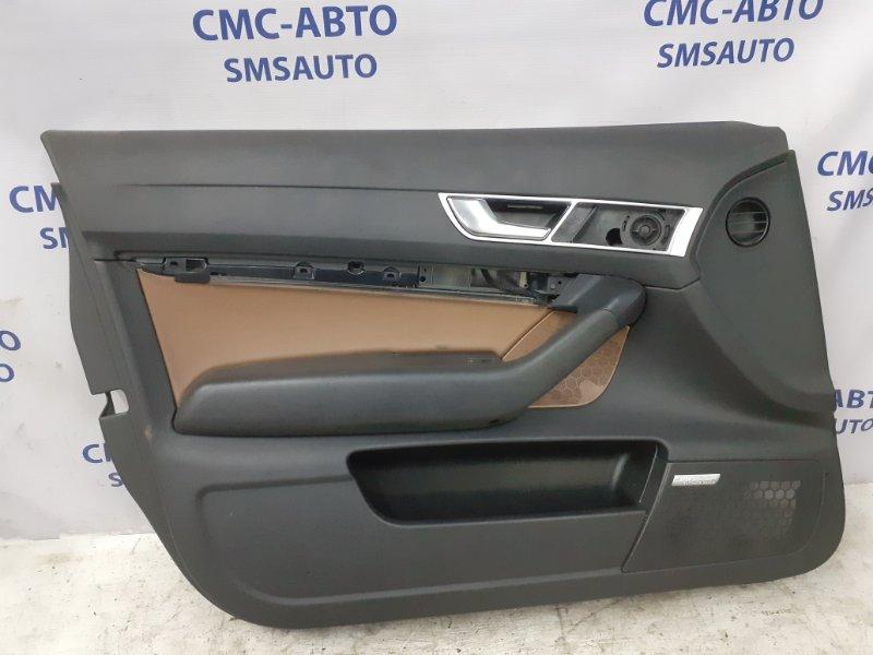 Обшивка двери Audi A6 C6 2.4 BDW 2005 передняя левая