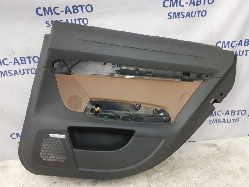 Обшивка двери Audi A6 C6 2.4 BDW 2005 задняя правая