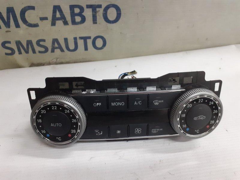 Блок управления климатом Mercedes C-Klasse W204 1.8Т 2008