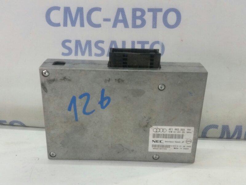 Блок управления телефоном Audi A6 C6 2.8
